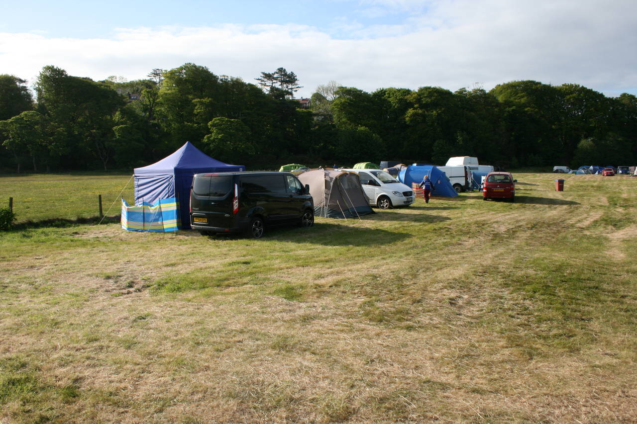 The Paddock - Normal Tent 1-4 Person (Pitch)