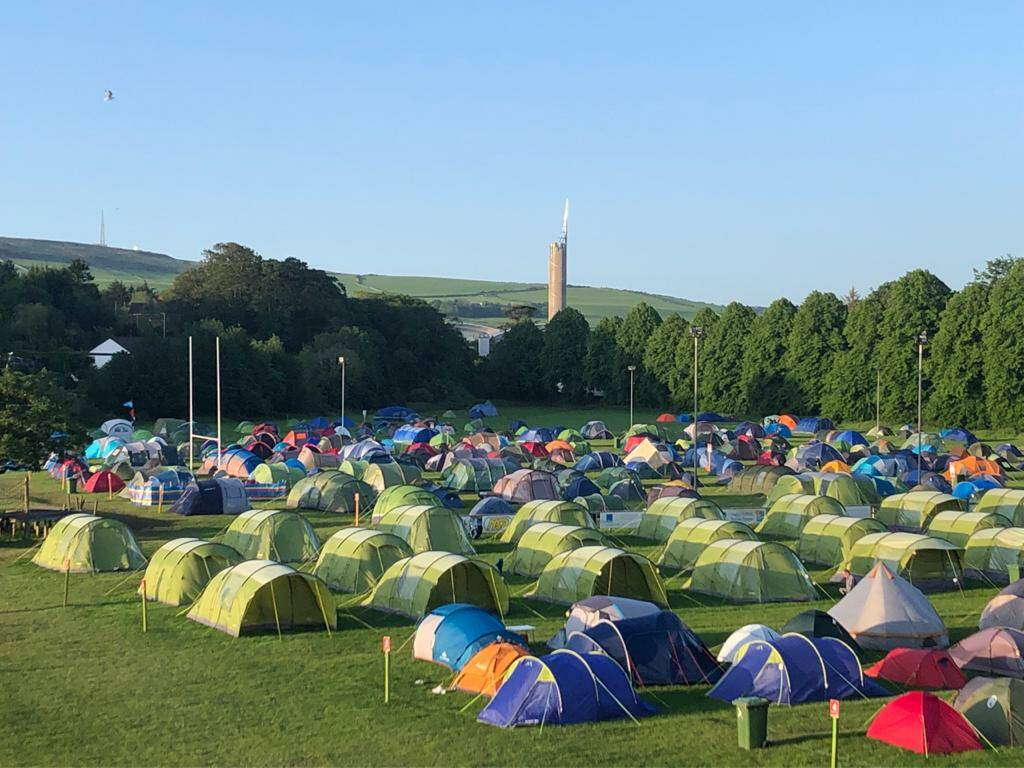 TT 2022 Normal Tent Per Persons (Pitch)