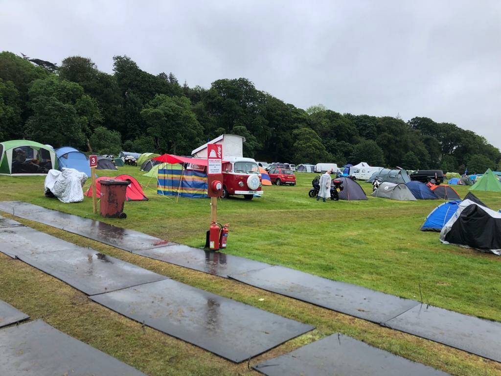 TT 2022 THE PADDOCK - Normal Tent per Person (PITCH).
